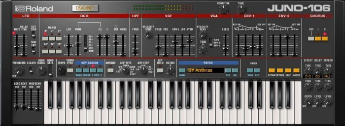 Roland Cloud Juno 106