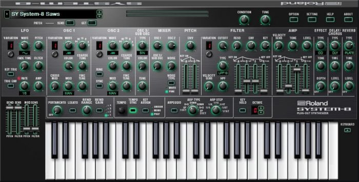 Roland Cloud System 8