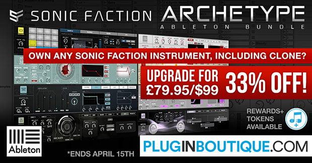 Sonic Faction Archetype Ableton Bundle sale