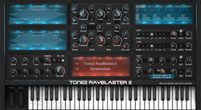 Tone2 Rayblaster2