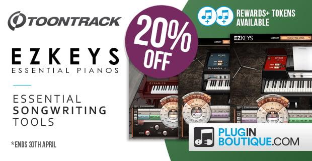 Toontrack EZkeys Essential Pianos sale