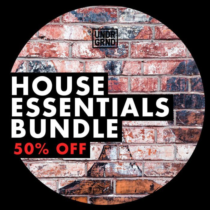 UNDRGRND Sounds House Essentials Bundle