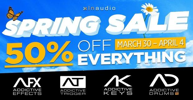 XLN Audio Spring Sale