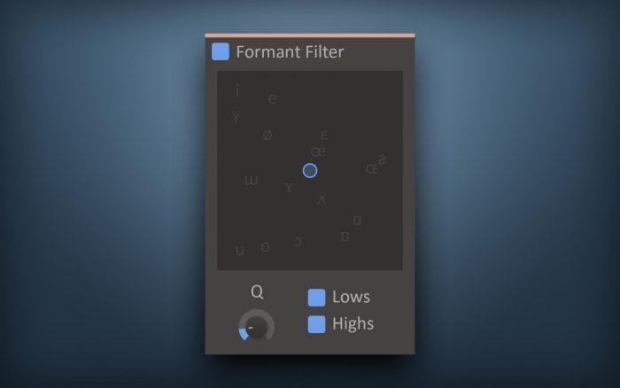 kiloHearts Formant Filter