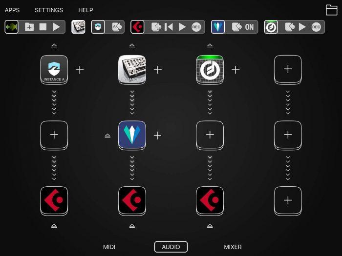 Audiobus Multiple Audio Pipelines