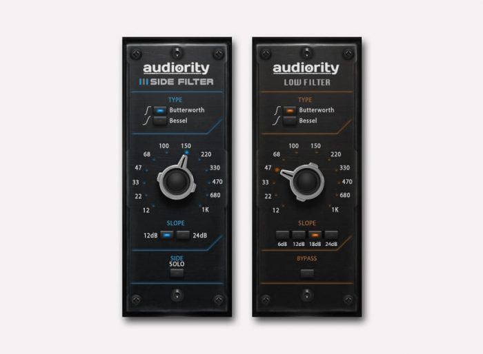 Audiority Side Filter Low Filter