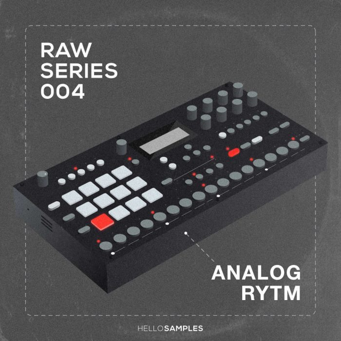 HelloSamples Raw Series Vol 4 Analog Rytm
