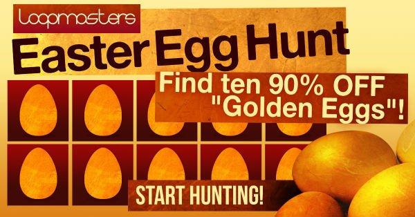 Loopmasters Easter Egg Hunt