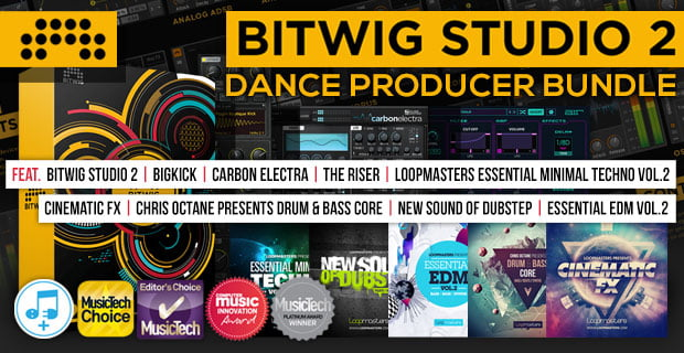 Plugin Boutique Bitwig 2 Dance Producer Bundle