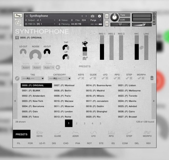 Sampleso Synthophone