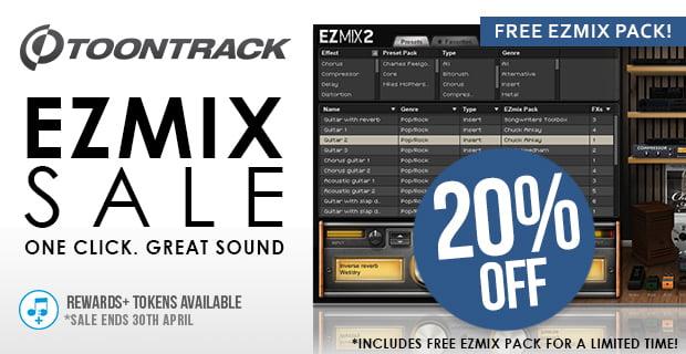 Toontrack EZmix Sale