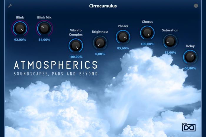 UVI Atmospherics for Falcon Cirrocumulus