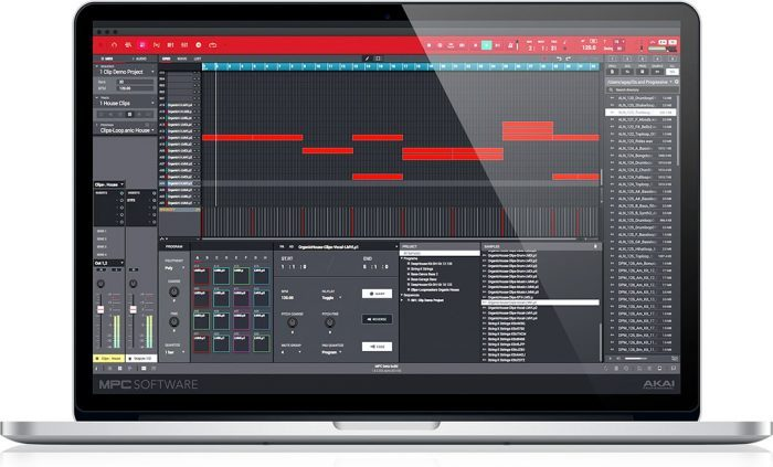 Akai MPC 2.0 Mac clip launch