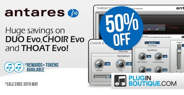 Antares EVO Sale 50 Plugin Boutique