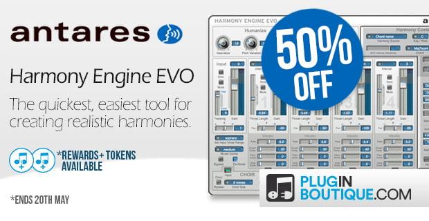 Antares Harmony Engine EVO 50 off
