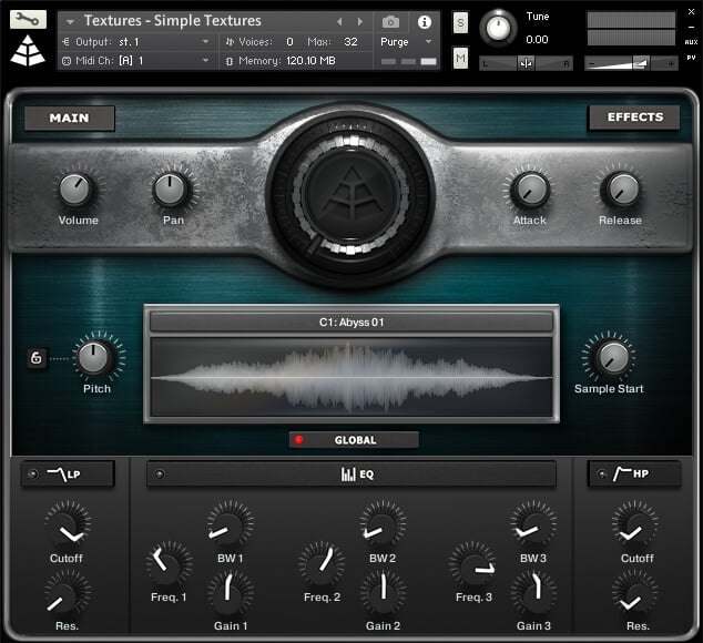 Audio Imperia Textures