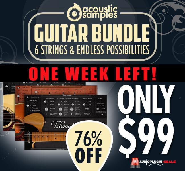 Audio Plugin Deals Audio Thing Bundle week