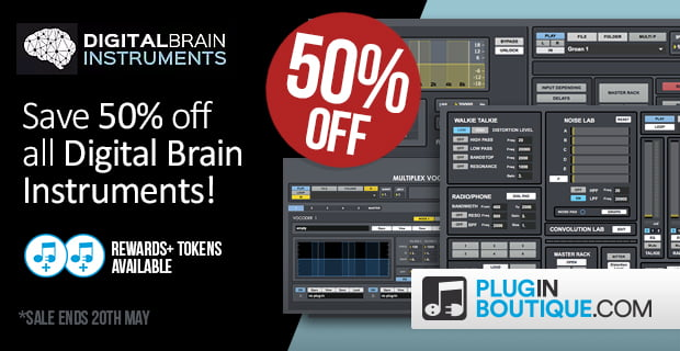 Digital Brain Instruments sale
