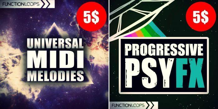 Function Loops Universal MIDI Melodies & Progressive PsyFX