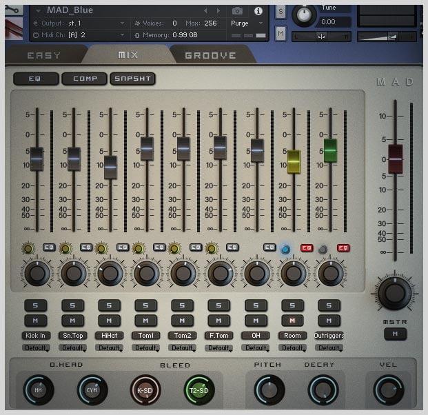 HandheldSound MAD RocknFunk mixer