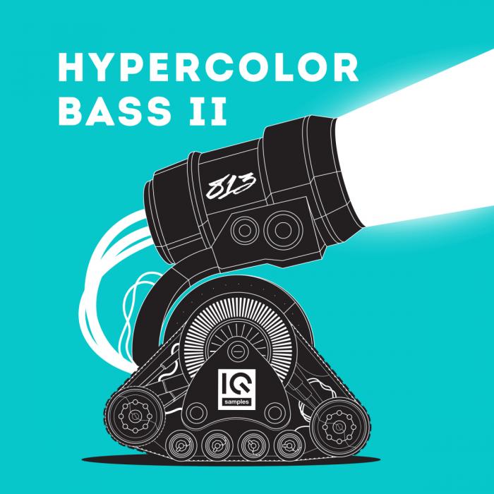 IQ Samples Hypercolor Bass II