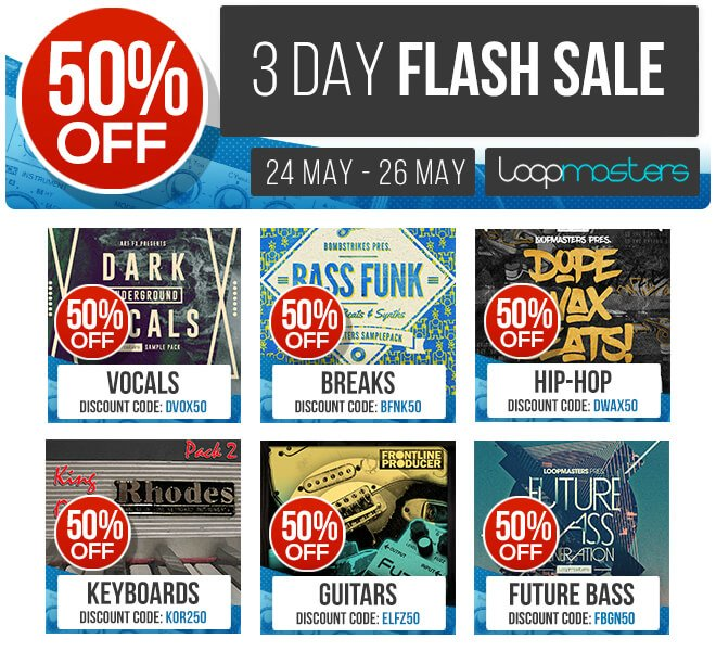 Loopmasters Flash Sale