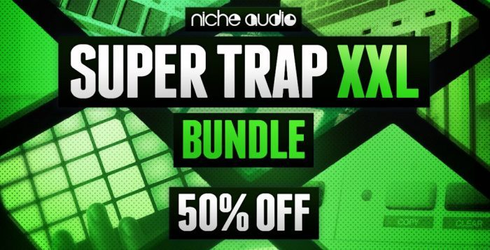 Niche Audio Super Trap Bundle