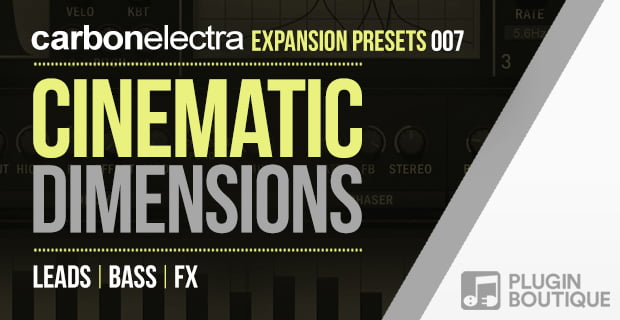 Plugin Boutique Cinematic Dimensions for Carbon Electra