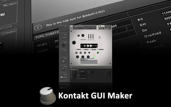 Rigid Audio Kontakt GUI Maker 1.1