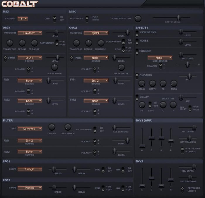 Sanford Sound Design Cobalt 2.0