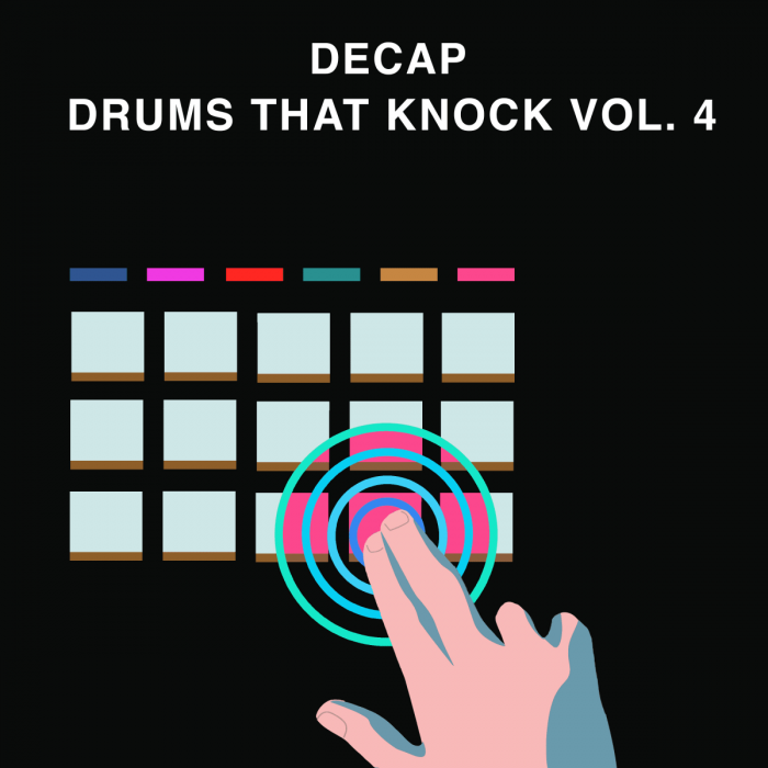 Splice Decap Drums That Knock Vol 4