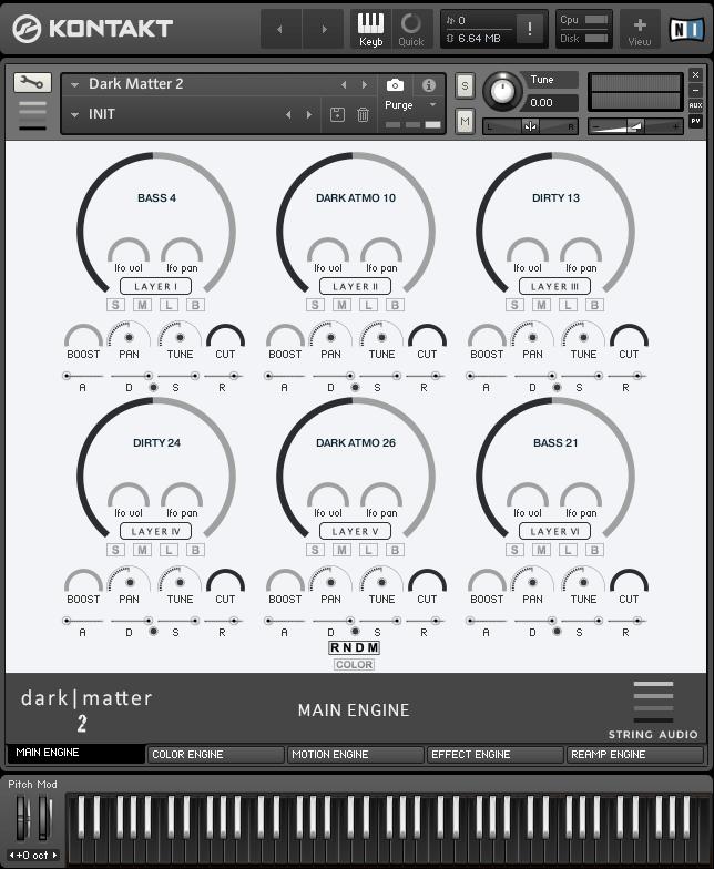 String Audio Dark Matter 2
