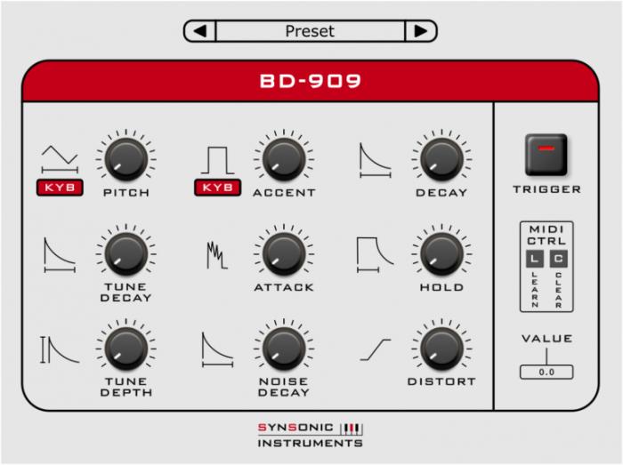 Synsonic BD 909