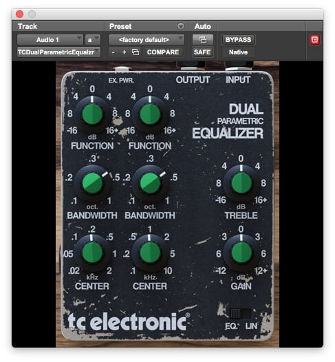 TC Electronic Dual EQ