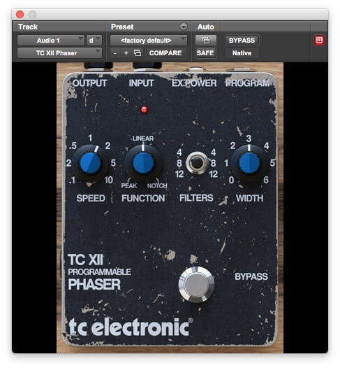 TC Electronic Phaser