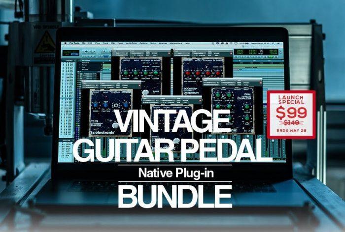 TC Electronic Vintage Guitar Pedal Bundle