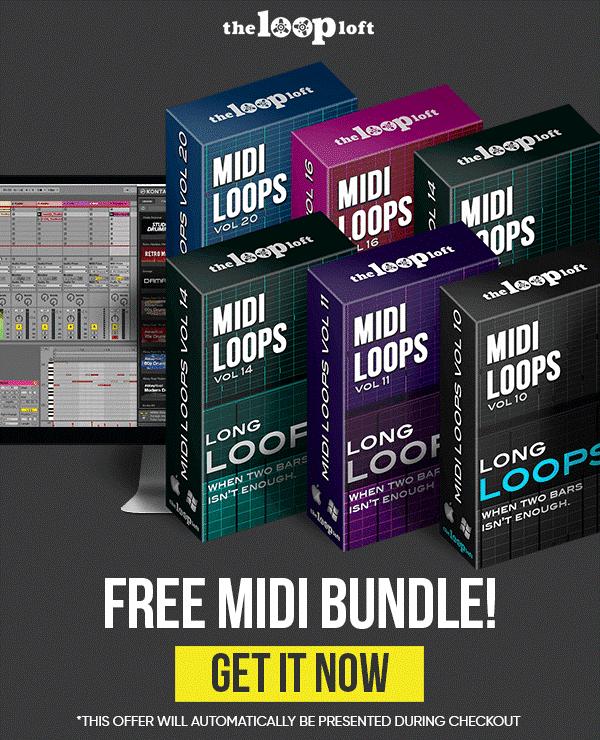 The Loop Loft MIDI Long Loops Bundle
