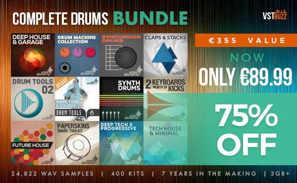 VST Buzz Wave Alchemy Complete Drums Bundle