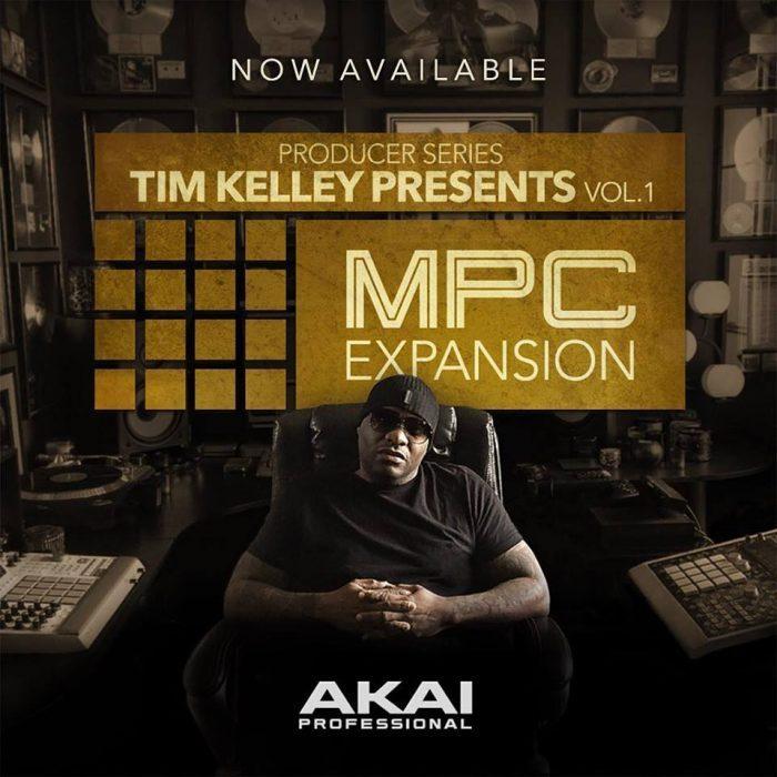 Akai Pro Tim Kelley Vol 1 MPC Expansion