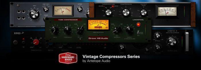 Antelope Audio FPGA compressors