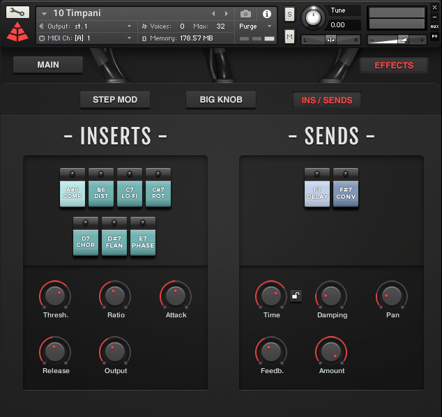 Audio Imperia Sinfonia Drums Effects
