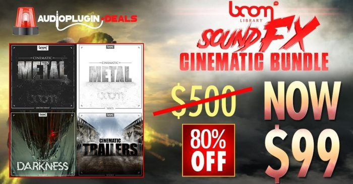 Audio Plugin Deals Boom Library Bundle