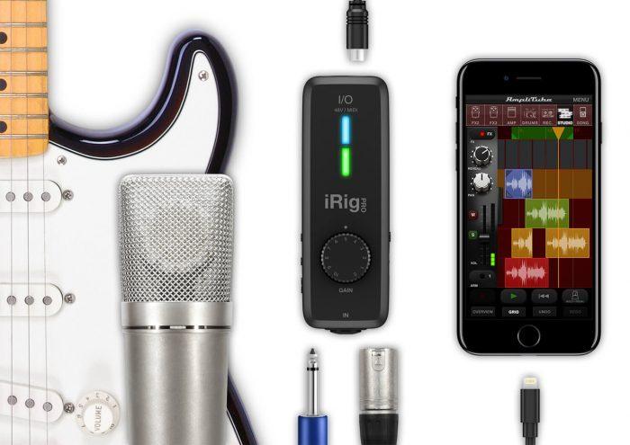 IK Multimedia iRig Pro I/O interface