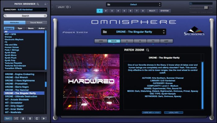 ILIO Hardwired for Omnisphere 2 screen 1