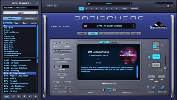 ILIO Hardwired for Omnisphere 2 screen 2