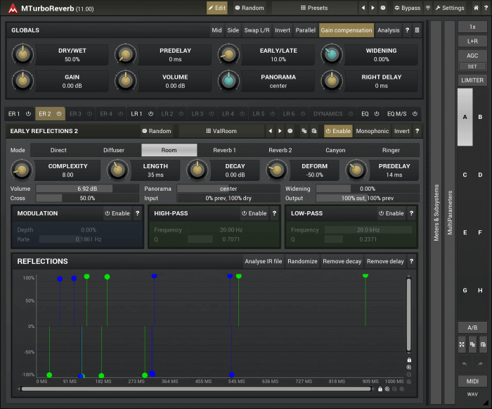 MeldaProduction MTurboReverb