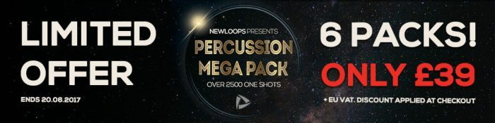 New Loops Percussion Mega Pack Sale
