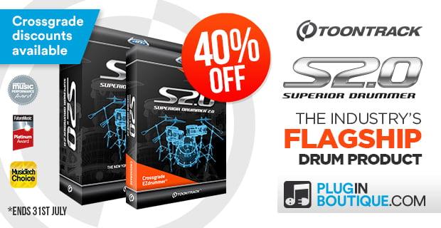 PIB Toontrack Superior Drummer 2 sale