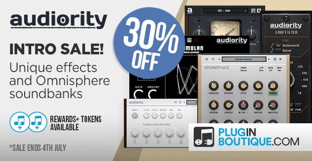 Plugin Boutique Audiority sale