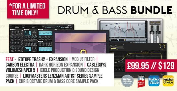 Plugin Boutique Drum and Bass Bundle update